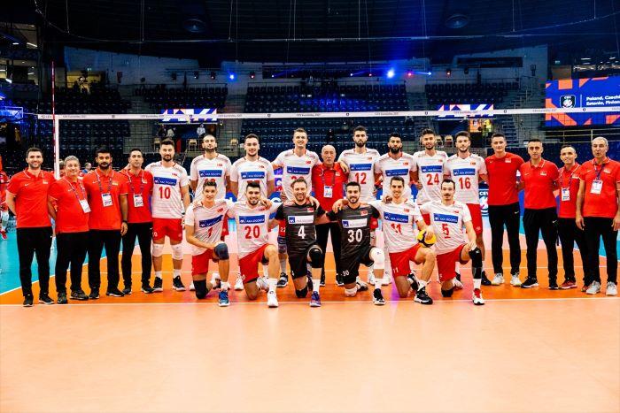 Türkiye, ikinci maçında İspanya'yı 3-1 yendi.