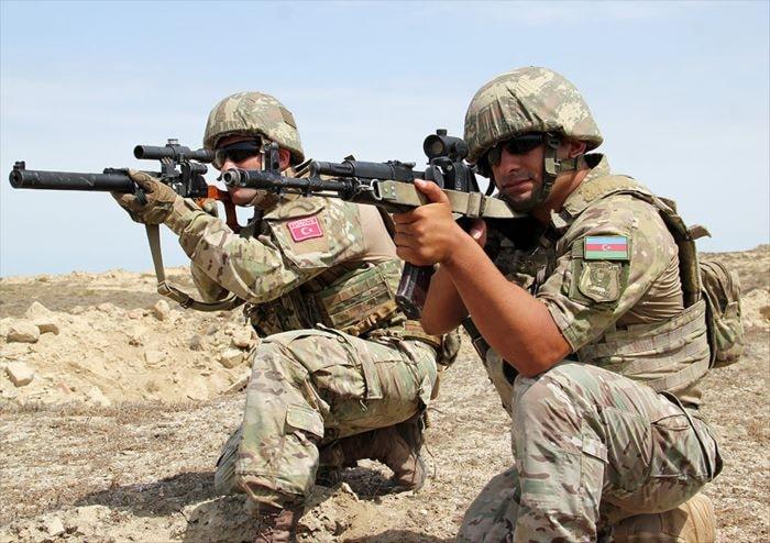 Türkiye ve Azerbaycan SAT komandolarından ortak tatbikat