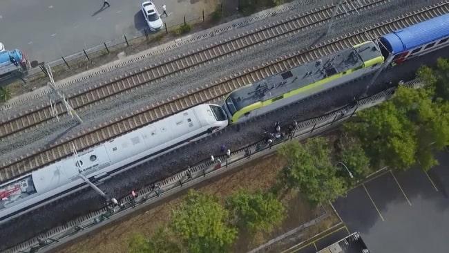 Tuzla'da Tren kazası