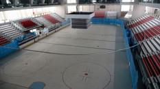 Zeytinburnu'nda 39 bin metrekarelik alana buz pisti inşa ediliyor