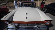 Klasik arabalar Ankara'da buluştu