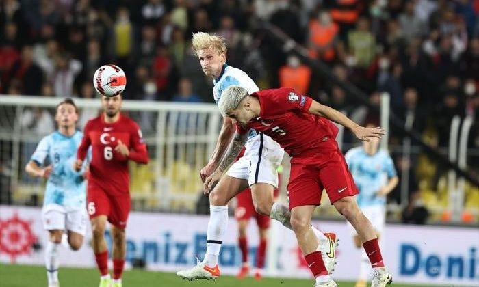 A Milli Futbol Takımı puan kaybına devam ediyor