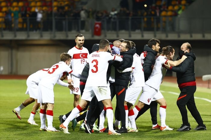 A Milli Takım uzatmalarda Dünya Kupası umutlarını sürdürdü