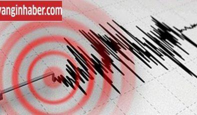 Akdeniz'de 6 büyüklüğünde deprem meydana geldi