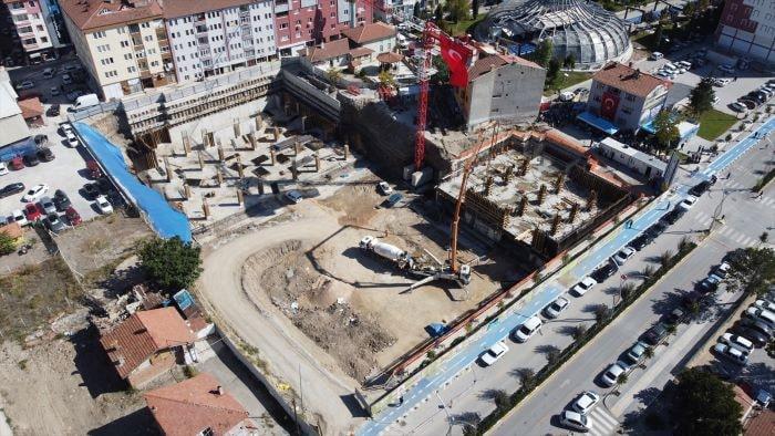 Çorum'da 500 yıllık  bedestan inşaatı