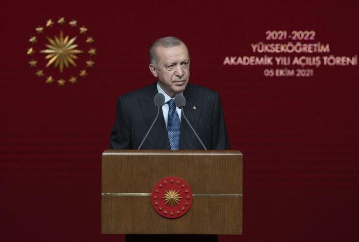 Erdoğan, YÖK Akademik Açılış Töreni'nde konuştu