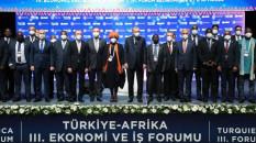 Erdoğan, Türkiye-Afrika 3. Ekonomi ve İş Forumu'na katıldı