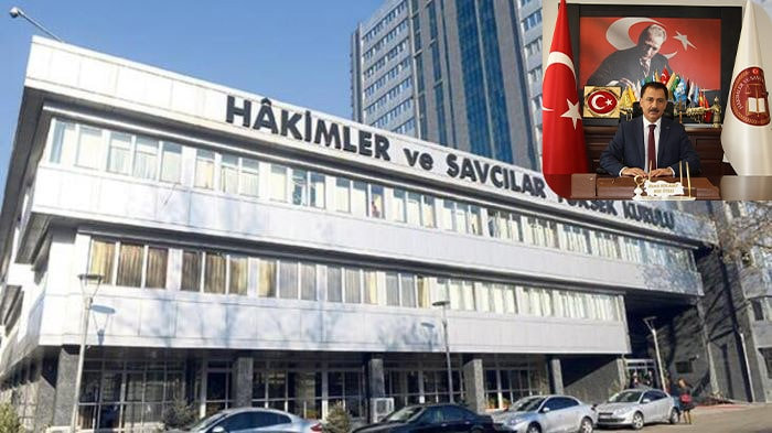 HSYK'da şok istifa