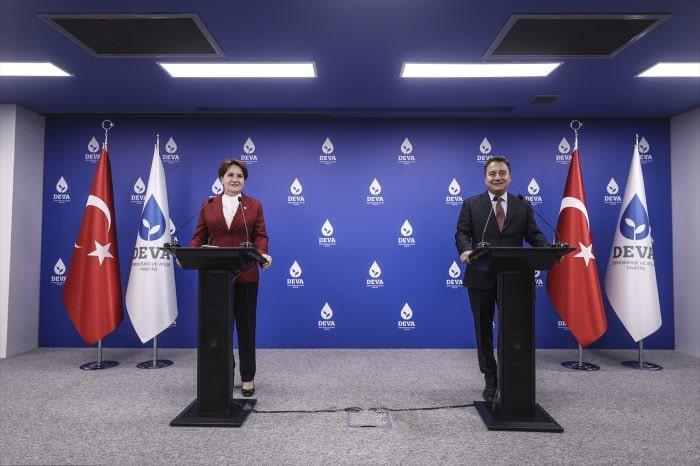 Meral Akşener, Ali Babacan ile bir araya geldi