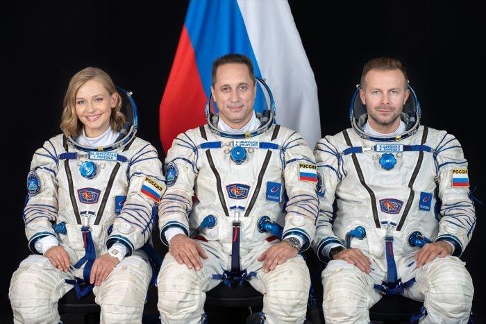 """Rusya """"uzun metrajlı film"""" için uzaya ekip gönderdi"""