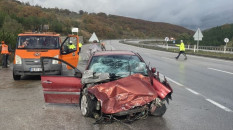 Samsun'da trafik kazası:1 kişi öldü