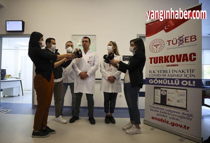 TURKOVAC aşısı için gönüllüler aranıyor