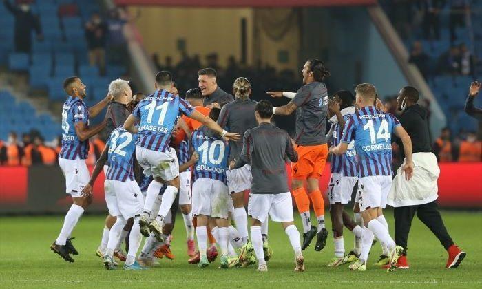 Trabzonspor, Fenerbahçe'yi 3-1 mağlup etti