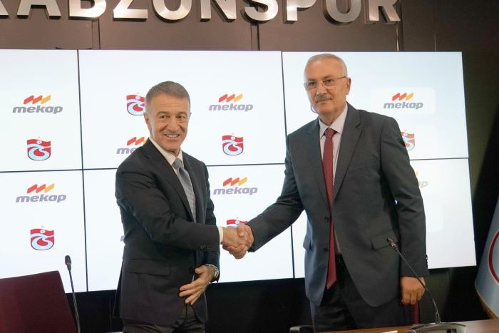 Trabzonspor, Mekap ile sponsorluk anlaşması imzaladı